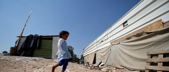 بالفيديو.. الأحتلال الإسرائيلي يزيل قرية الوادي الأحمر الجديدة شرقي القدس