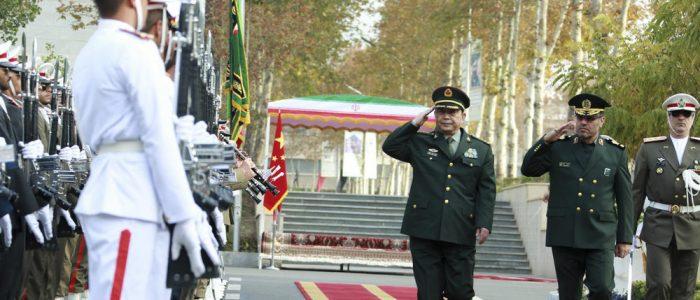 تحدي جديد لواشنطن .. بكين تعرض تعاون مشترك للقوات المسلحة الصينية والإيرانية