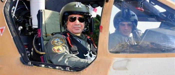 """جولة السيسي بالقواعد الجوية و""""مستقبل مصر"""" تتصدر اهتمامات الصحف"""