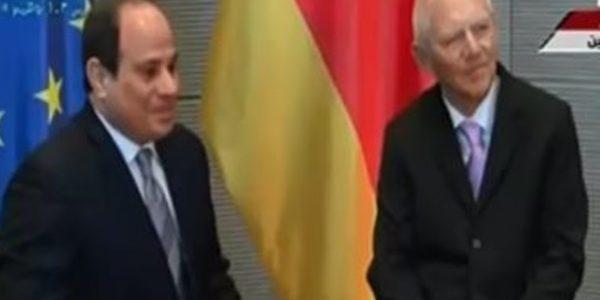 الرئيس السيسي يعقد جلسة مباحثات مع رئيس البرلمان الألمانى البوندستاج
