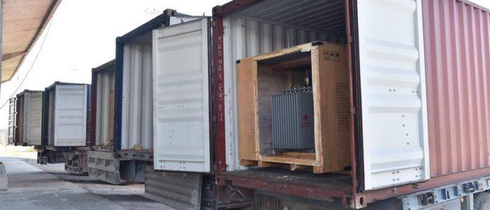 الصين تتبرع بمحولات كهربائية إلى سوريا من أجل إعادة الإعمار