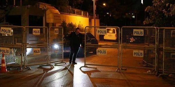 تفاصيل 9 ساعات تفتيش داخل القنصلية السعودية في تركيا بحثا عن خاشقجي