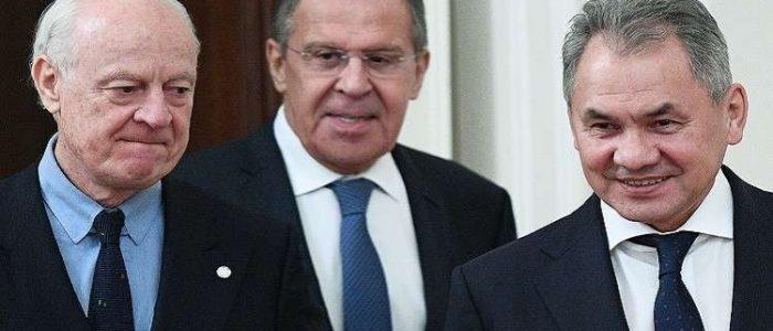روسيا تعلق على استقالة دي ميستورا