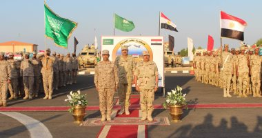 انطلاق فعاليات التدريب المشترك (تبوك – 4) بمشاركة قوات مصرية وسعودية