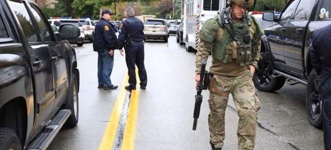 مسلح يفتح النار في كنيس يهودي بولاية بنسلفانيا الأمريكية