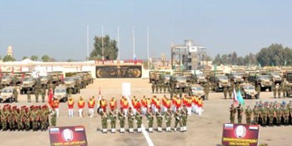 مصر وروسيا تجريان التدريب المشترك (حماة الصداقة 3 ) بمشاركة المظلات