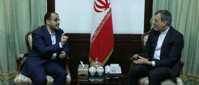 كبير مفاوضي الحوثيين في طهران