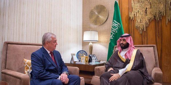 محمد بن سلمان يلتقي مبعوث بوتين الخاص إلى سوريا