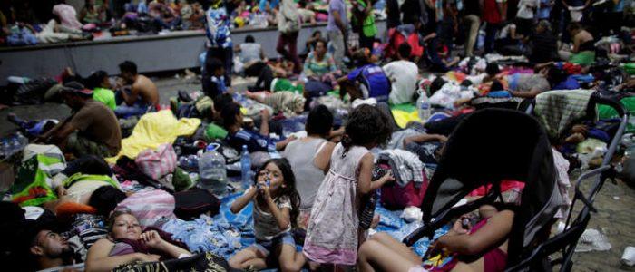 أمريكا تستعد لصد هجوم قافلةللمهاجرين تزحف نحو واشنطن عبر المكسيك