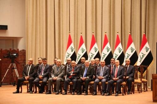 أعضاء حكومة عبدالمهدي