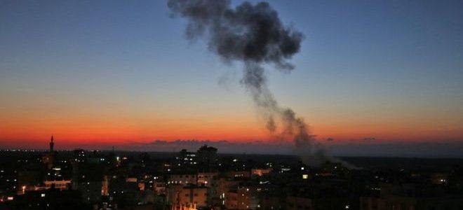إسرائيل تقصف جنوب غزة