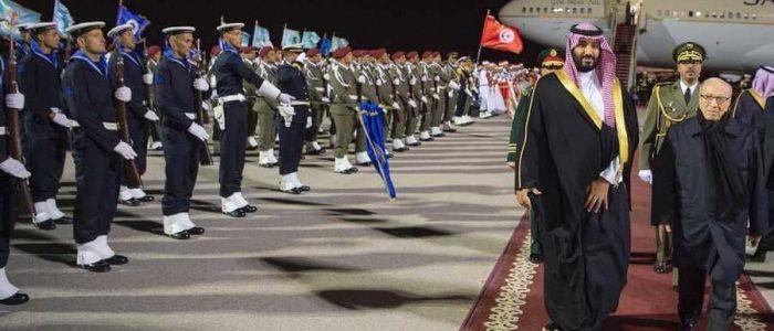 محمد بن سلمان يصل إلى تونس