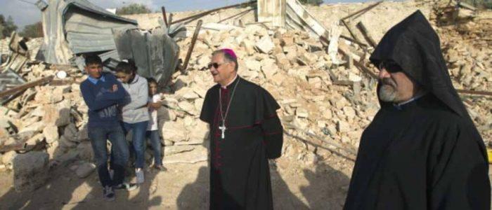 الاحتلال الإسرائيلي يستولي على أراضي كنيسة فلسطينية