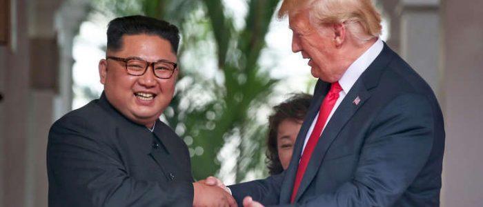 ترامب: القمة الثالثة مع زعيم كوريا الشمالية ستكون الأخيرة