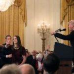 """البيت الأبيض يعلق تصريح مراسل """"سي أن أن"""" عقب سجال حاد مع ترامب"""