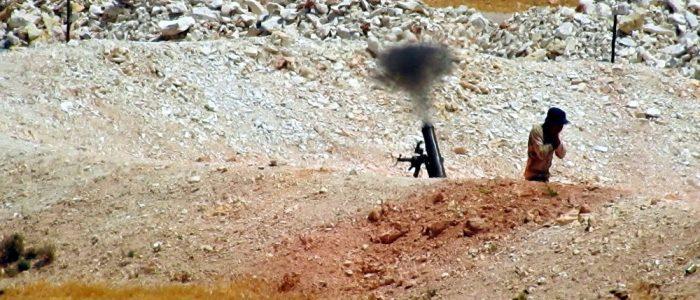 جبهة النصرة  تنشر 50 من صواريخ الكيميائية المعدلة على جبهات إدلب