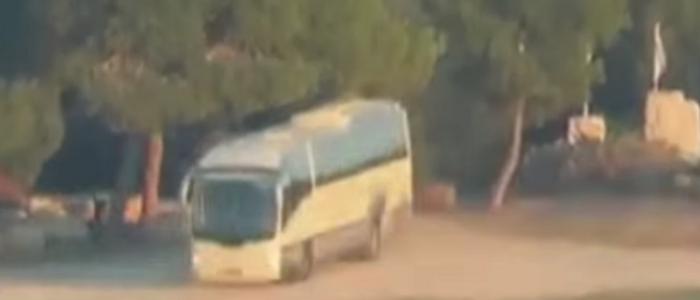 نتائج التحقيق الأولي في تدمير الحافلة الإسرائيلية