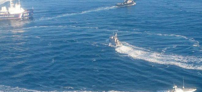 تصاعد التوتر عقب احتجاز روسيا سفنا حربية أوكرانية