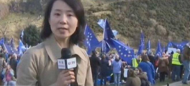 إسقاط دعوى ضد صحفية صينية اتهمت بصفع عضو بحزب المحافظين البريطاني