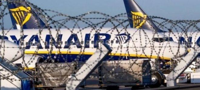 """فرنسا تحتجز طائرة لـ""""ريان إير"""" الأيرلندية بسبب خلاف مالي"""