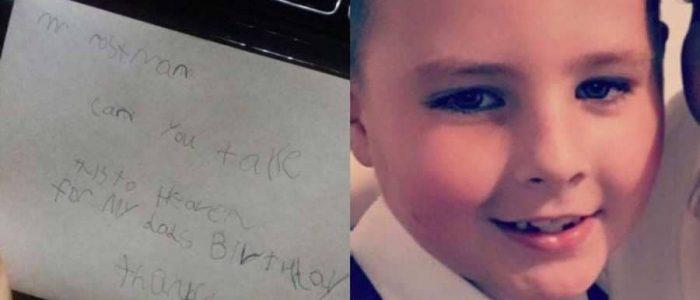طفل بعث رسالة لوالده  في الجنة فتلقي رداً خاص