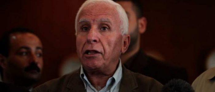 عزام الأحمد ينفي الموافقة على التهدئة مقابل إدخال أموال لغزة عن طريق إسرائيل