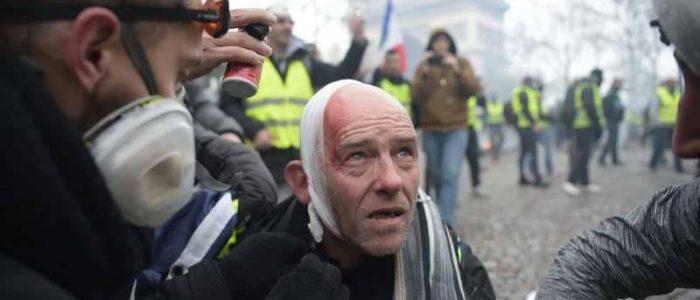 """فرنسا تنذر بـ""""خريف أوروبي"""" بعد مواجهات الشانزيليزيه"""