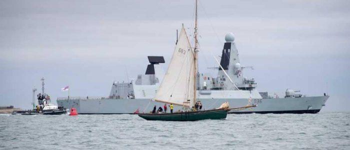 قوارب إيرانية تتدفق على بريطانيا