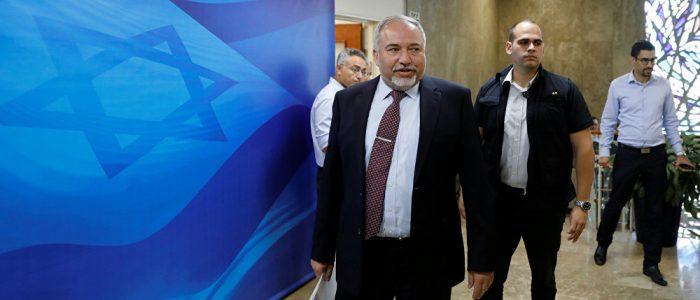 غزة تطيح ليبرمان من وزارة الدفاع الإسرائيلية