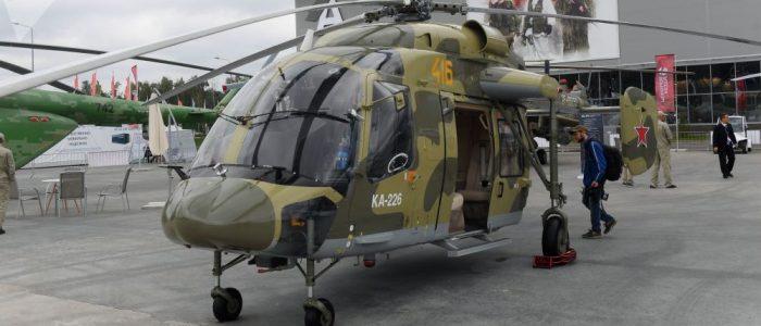 """مشروع مشترك بين روسيا والهند لإنتاج مروحيات """"كا-226"""""""