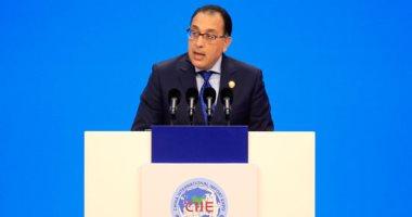 رئيس الوزراء يدعو مجتمع الأعمال الصينى للاستفادة من السوق المصرى