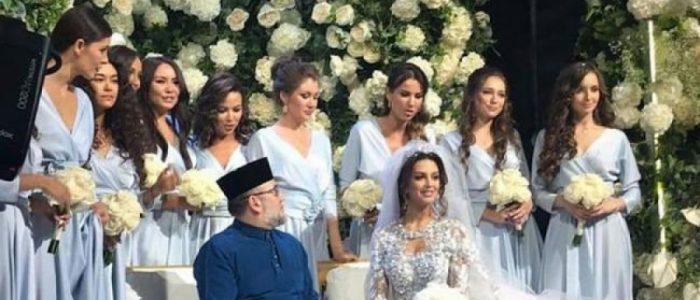 ملك ماليزيا المتزوج حديثاً يريد وريثاً للعرش