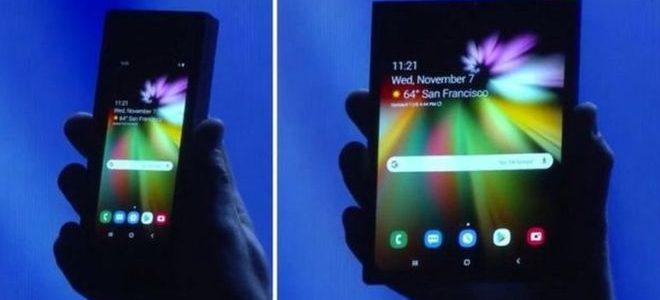 سامسونج تكشف النقاب عن هاتف ذكي جديد بشاشة قابلة للطي