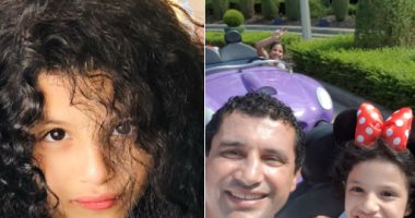 هيثم فاروق نجم منتخب مصر السابق يحتفل بعيد ميلاد ابنته صبا
