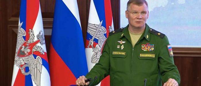 الدفاع الروسية: مقاتلاتنا قامت بتصفية المسلحين الذين قصفوا حلب بالمواد الكيميائية