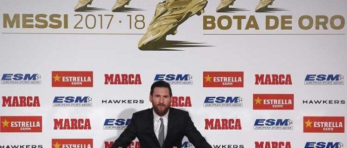 ميسي يتوج بجائزة أفضل لاعب في العالم