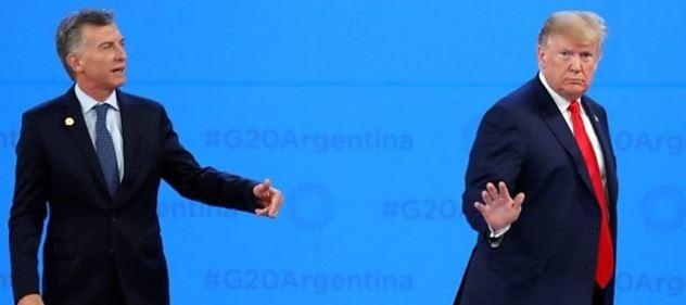 ترامب يحرج رئيس الأرجنتين