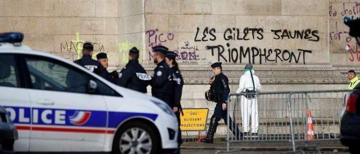 """الشرطة الفرنسية تضرب عن العمل تضامنا مع """"السترات الصفراء"""""""