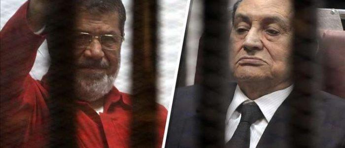 مبارك يتغيب عن جلسة محاكمة مرسي والمحامي الديب يوضح