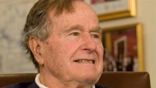 وفاة جورج بوش الأب الرئيس 41 للولايات المتحدة
