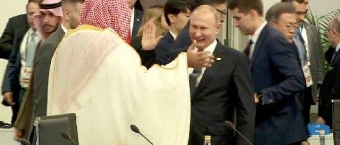 السلام الحار بين بوتين وولي العهد السعودي بطاقة تبرئة للأمير من قتل جمال خاشقجي
