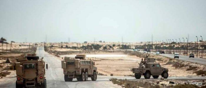 قتل  5 إرهابيين في تبادل إطلاق النار شمالي سيناء