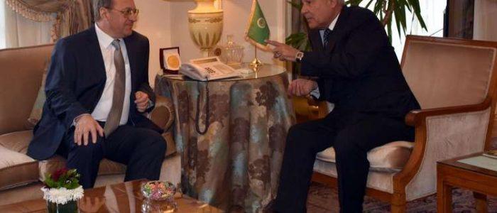 أبو الغيط وبوغدانوف يبحثان التطورات الأخيرة في الشرق الأوسط