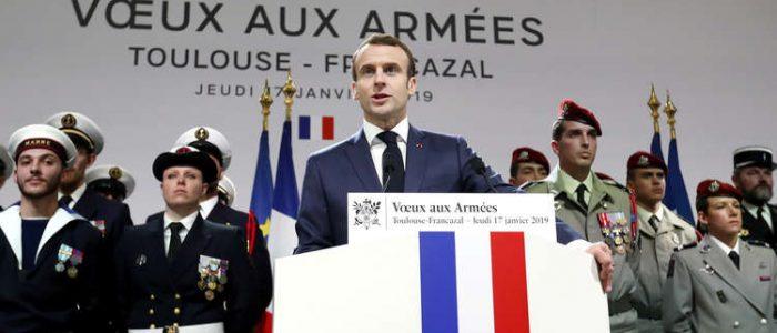 الرئيس الفرنسي: باقون في سوريا والعراق خلال 2019