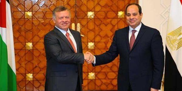 تفاصيل قمة الرئيس السيسي وملك الأردن في عمان