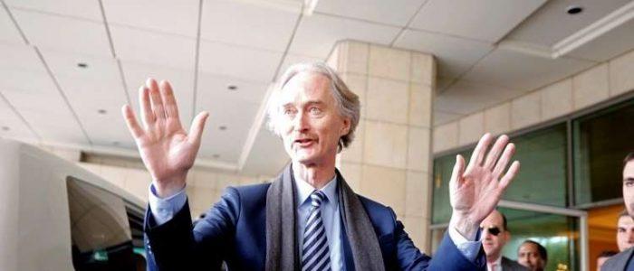 المبعوث الأممي الخاص بسوريا: المحادثات مع موسكو تساهم تعزيز القواسم المشتركة ودفع العملية السياسية
