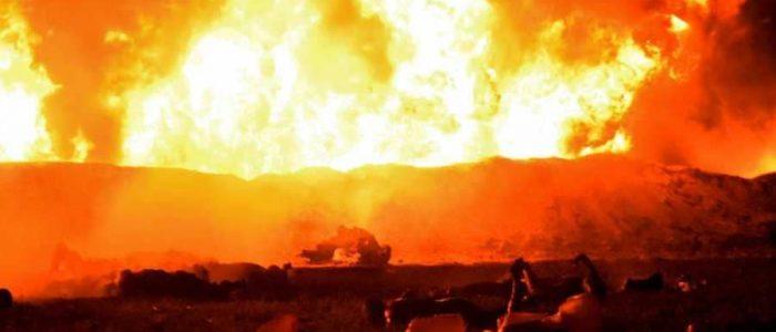 66 قتيلاً حصيلة انفجار أنبوب نفط في المكسيك