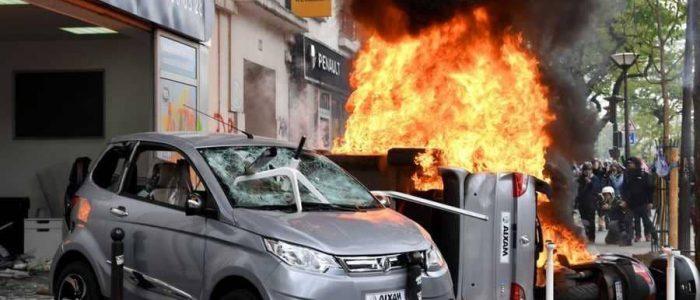 انفجاري كبير في فرنسا