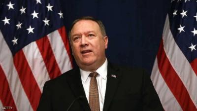 بومبيو يتهرب من سؤال بشأن الاستخبارات الأمريكية في فنزويلا