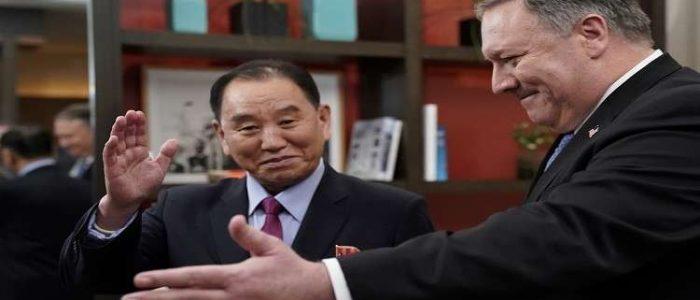 مايك بومبيو يبحث نزع السلاح النووي مع اليد اليمني لزعيم كوريا الشمالية
